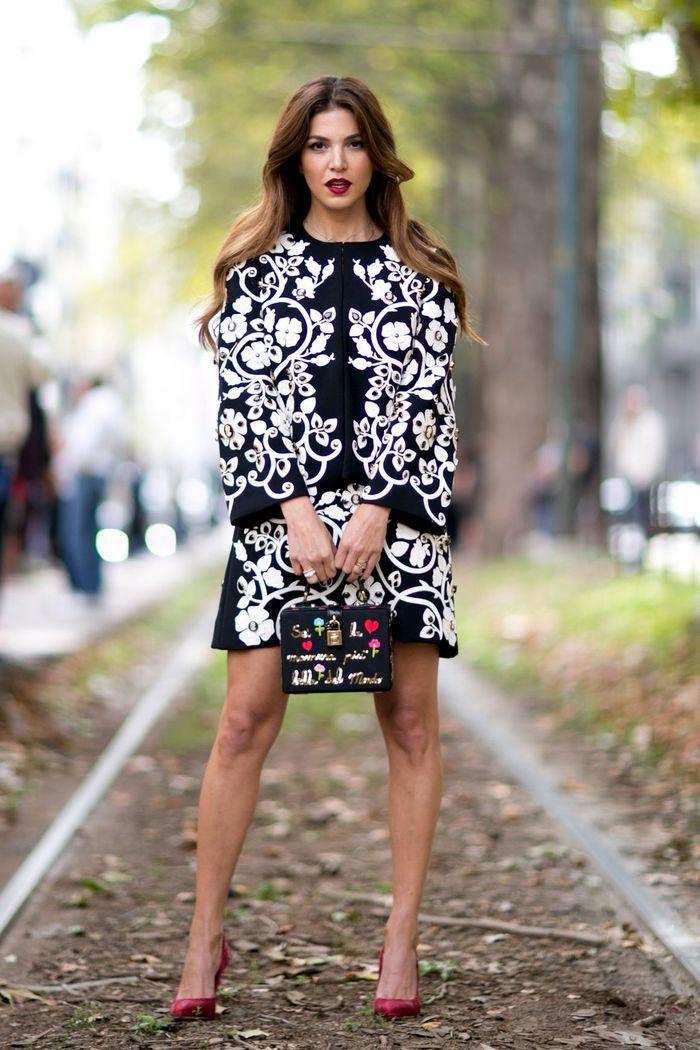 Une robe couture + un sac original