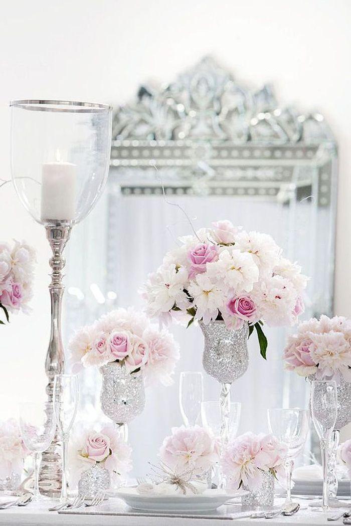 Mariage hiver d coration florale le mariage d hiver et si c tait la meill - Site decoration mariage ...