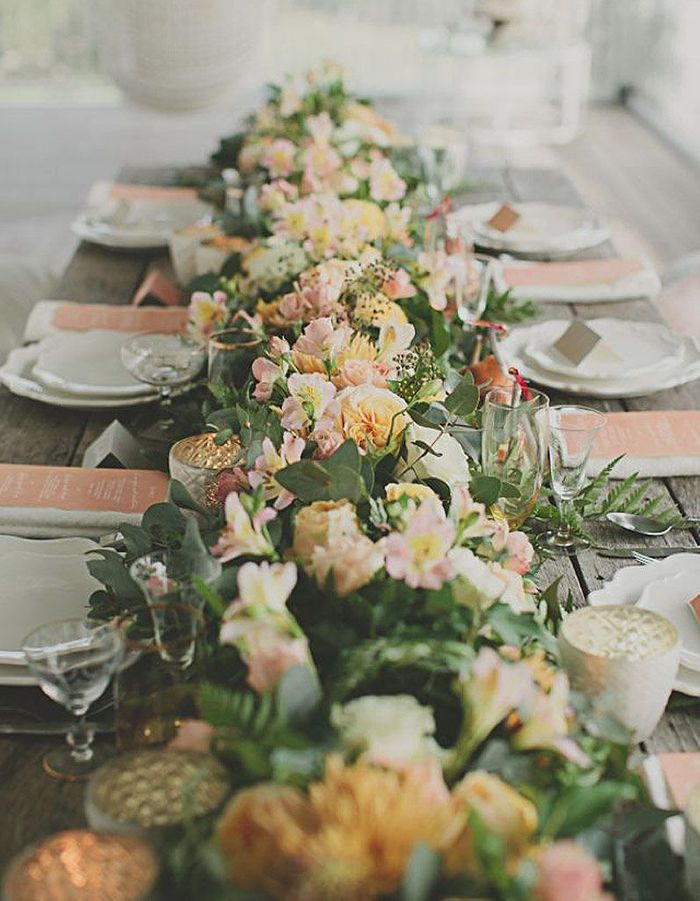 La d co de mariage les do don t du mariage vus par joy dreyfus styliste de mode elle - Soldes decoration mariage ...