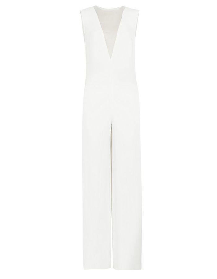 combinaison blanche ajour e joseph 30 combinaisons blanches pour moderniser la robe de mari e. Black Bedroom Furniture Sets. Home Design Ideas