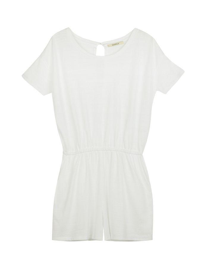 combinaison blanche coton sess n 30 combinaisons blanches pour moderniser la robe de mari e elle. Black Bedroom Furniture Sets. Home Design Ideas