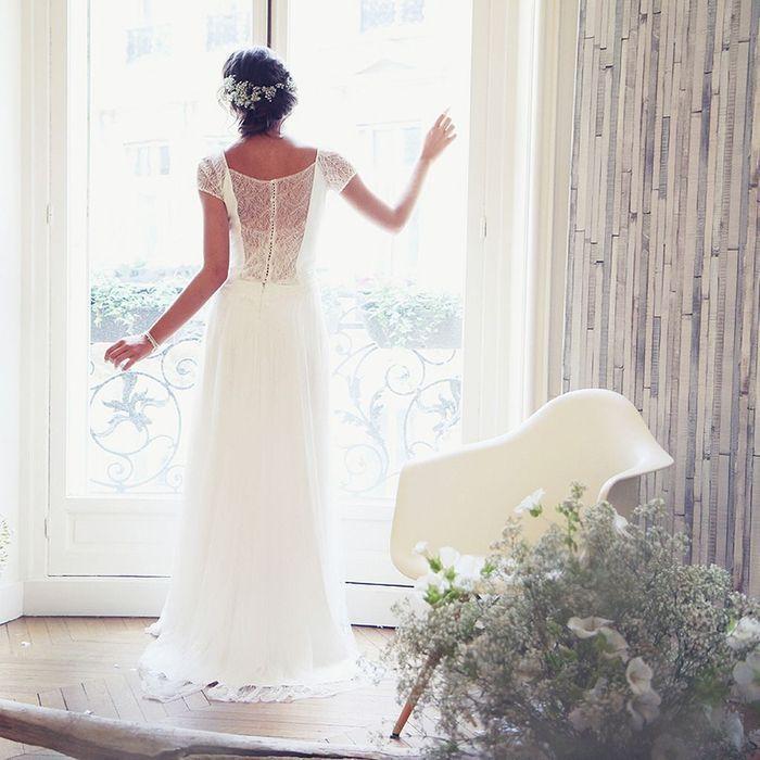 Robe de mariée fluide Amarildine - 100 robes de mariée pas comme les ...