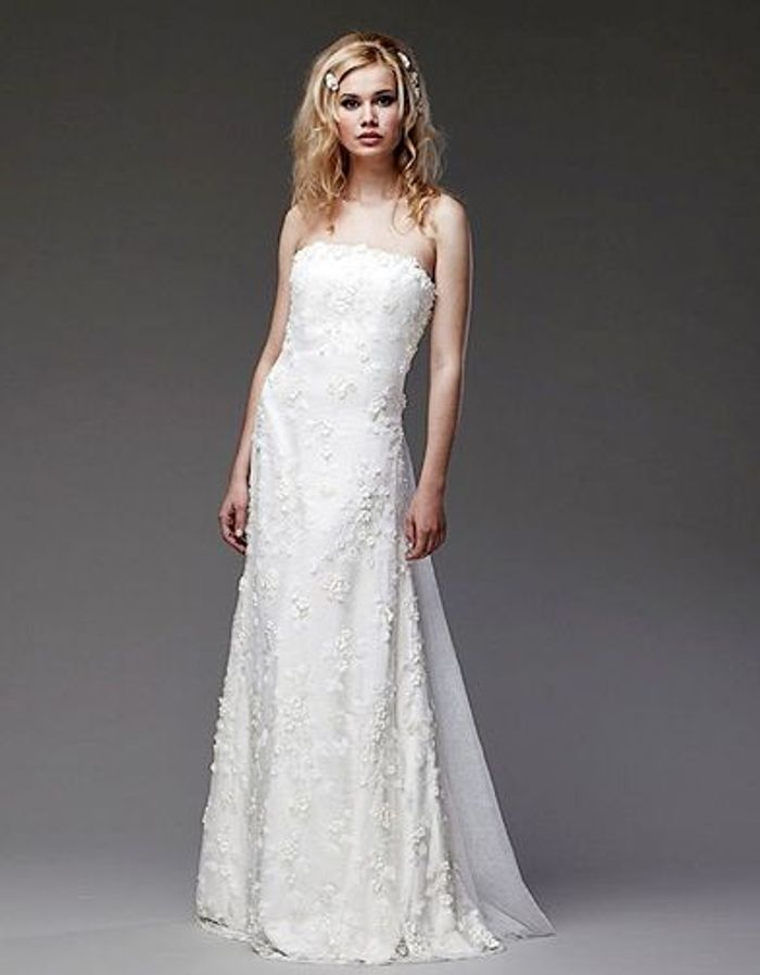 ... robe mariee anaquasoar FLORE cape avril - Robe de mariage - Elle