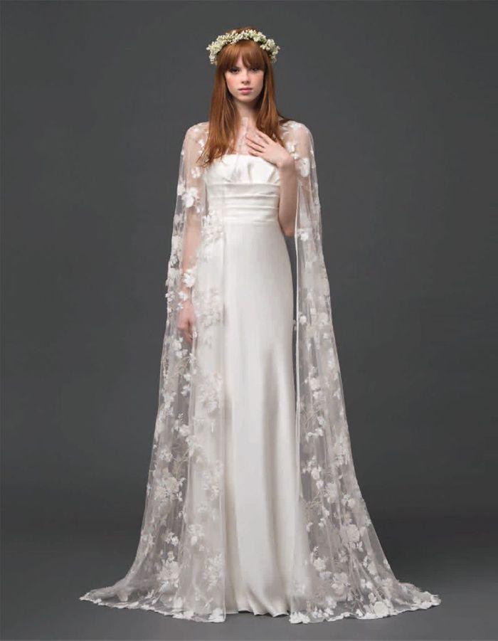 Robe de mariée créateur italien Alberta Ferretti