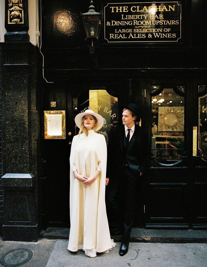 Robe de mariée créatrice parisienne Stéphanie Wolff