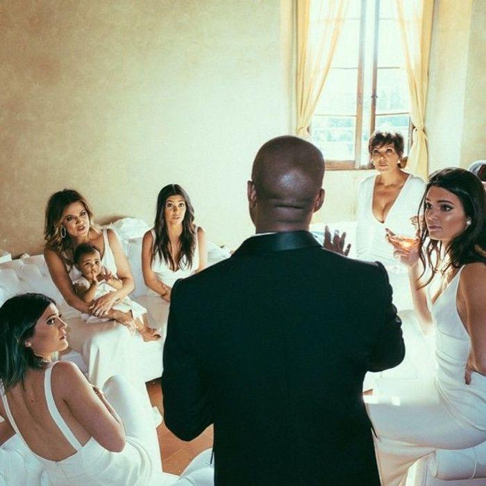 Les robes de demoiselle dhonneur du clan Kardashian/Jenner au mariage de Kim