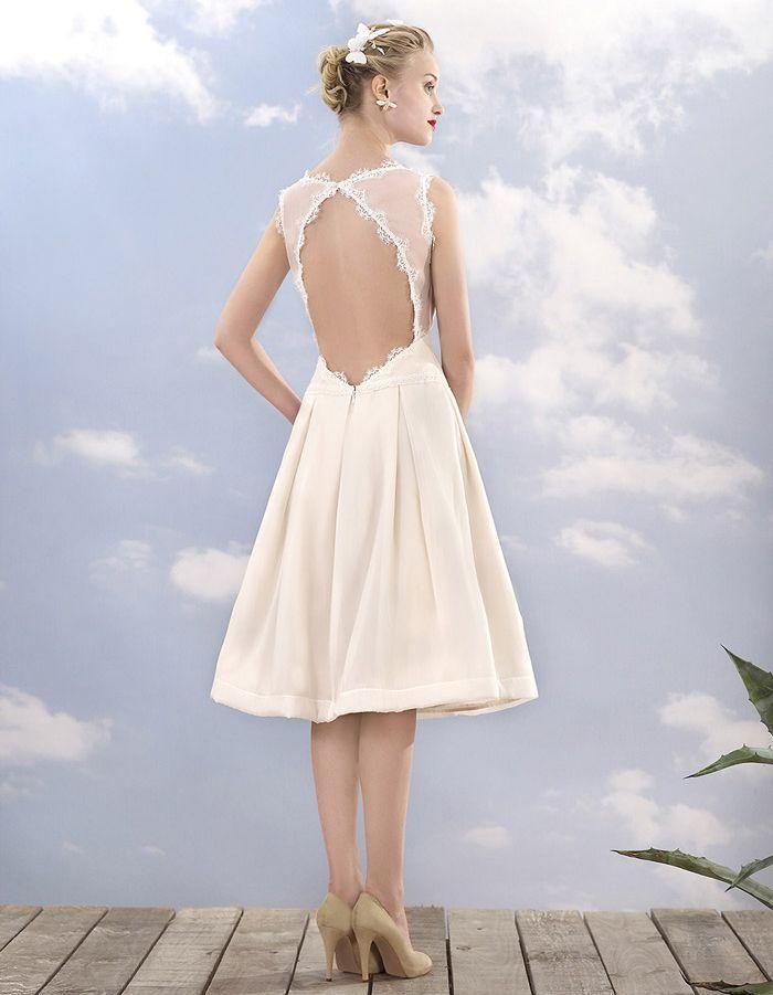 robe de mari e courte l gante atelier manon pascual les plus belles robes de mari e courtes. Black Bedroom Furniture Sets. Home Design Ideas