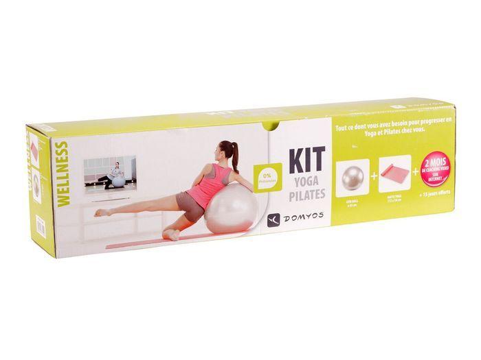 le pack wellness domyos les 10 bonnes fa ons de faire du sport la maison elle. Black Bedroom Furniture Sets. Home Design Ideas