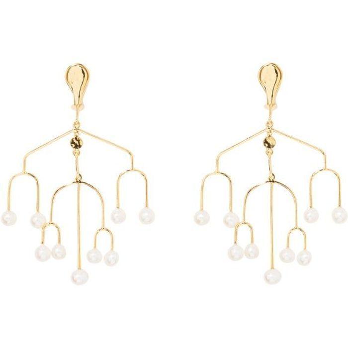 Boucles d'oreilles à perles Aurélie Bidermann