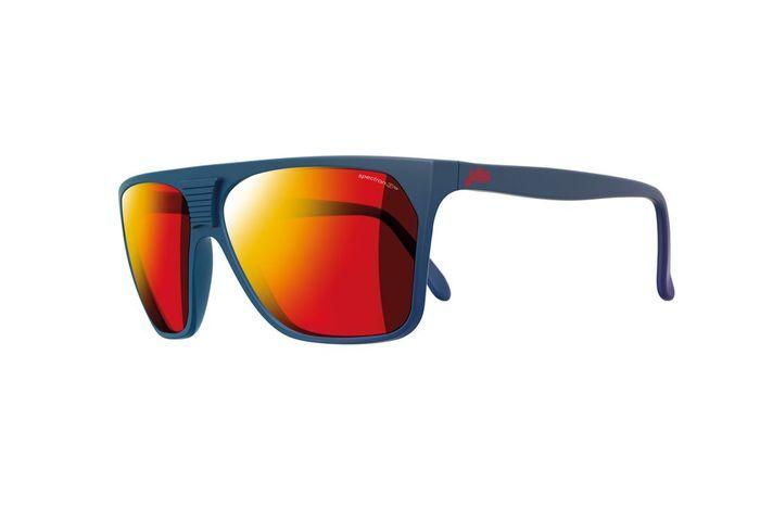 Lunettes de soleil effet miroir rouge julbo 20 lunettes - Miroir en forme de lunette ...