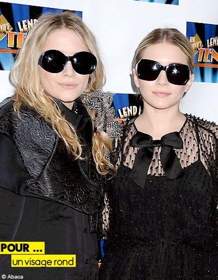 Mode tendance guide shopping lunettes visage rond olsen