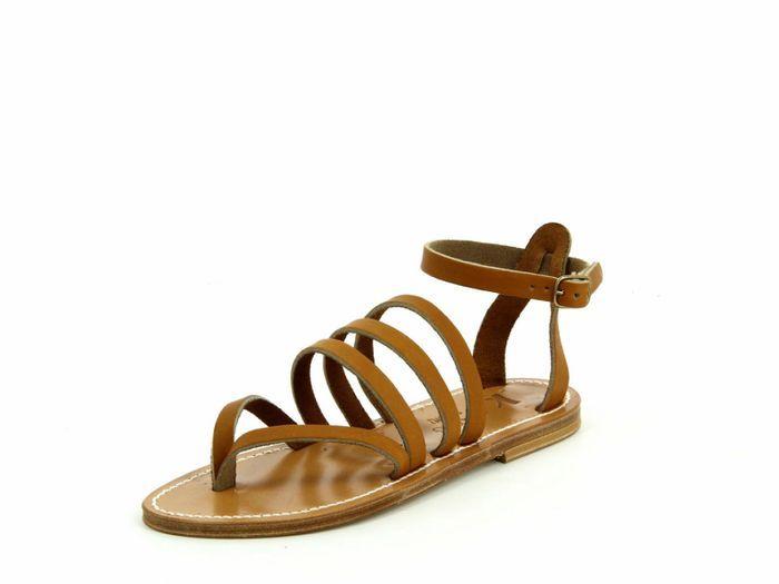 Sandales plates K.Jacques