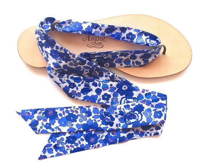 Sandales plates Nupié