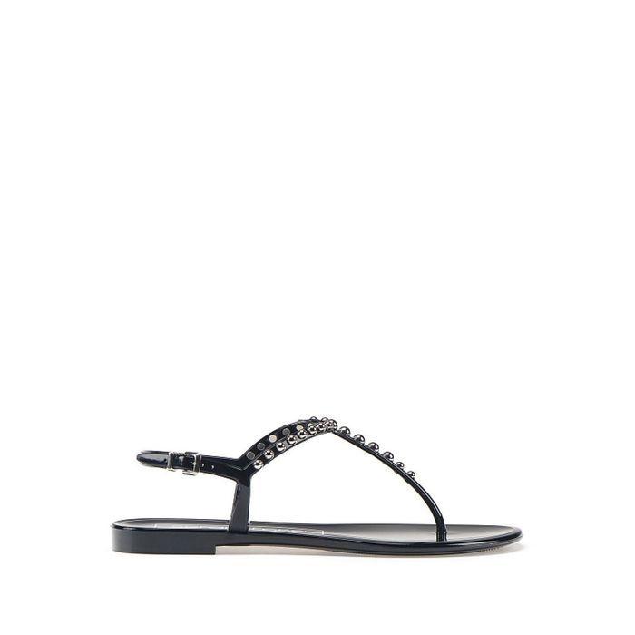 Sandales plates Sergio Rossi