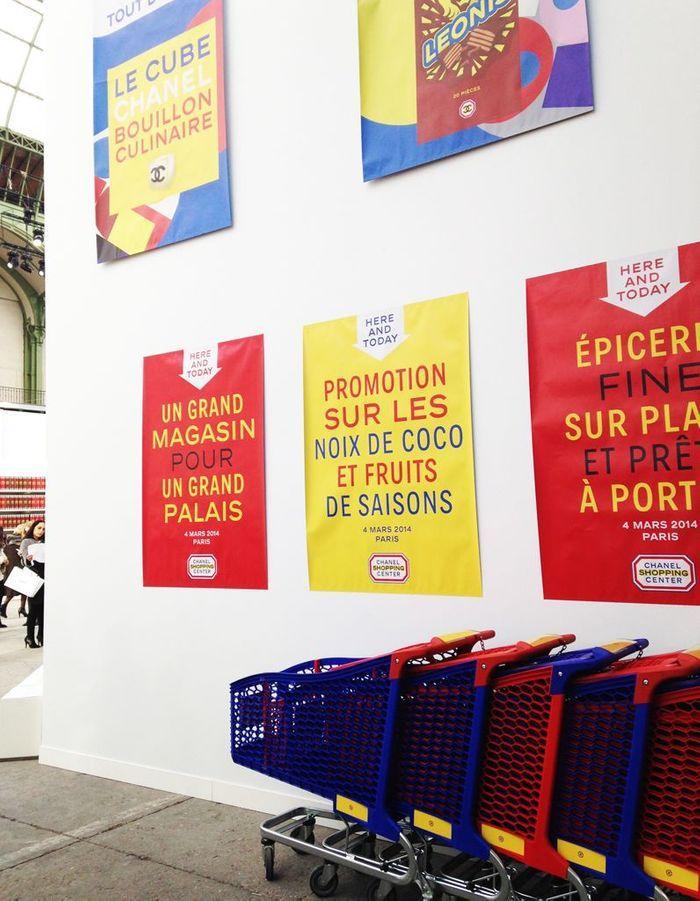 Les affiches publicitaires aux couleurs pop