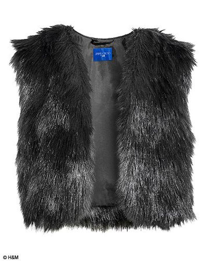 la robe en cuir noir asym trique jimmy choo pour h m les pi ces shopper elle. Black Bedroom Furniture Sets. Home Design Ideas