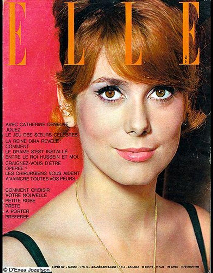 couverture elle magazine 1962 les plus belles couvertures de elle c l brent la journ e. Black Bedroom Furniture Sets. Home Design Ideas