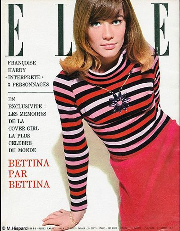 couverture elle magazine 1963 les plus belles couvertures de elle c l brent la journ e. Black Bedroom Furniture Sets. Home Design Ideas