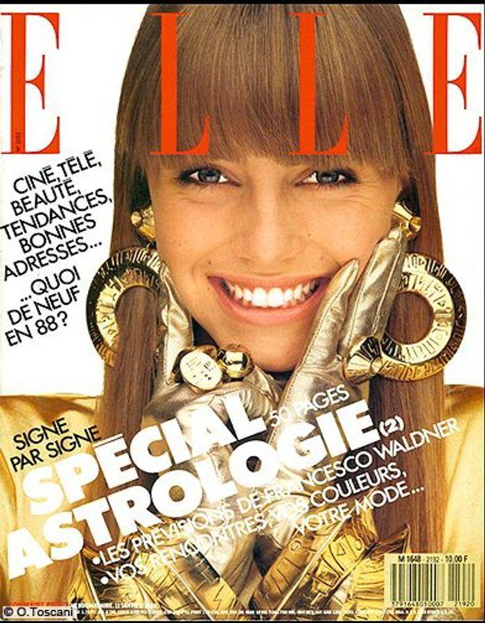 couverture elle magazine 1988 les plus belles couvertures de elle c l brent la journ e. Black Bedroom Furniture Sets. Home Design Ideas