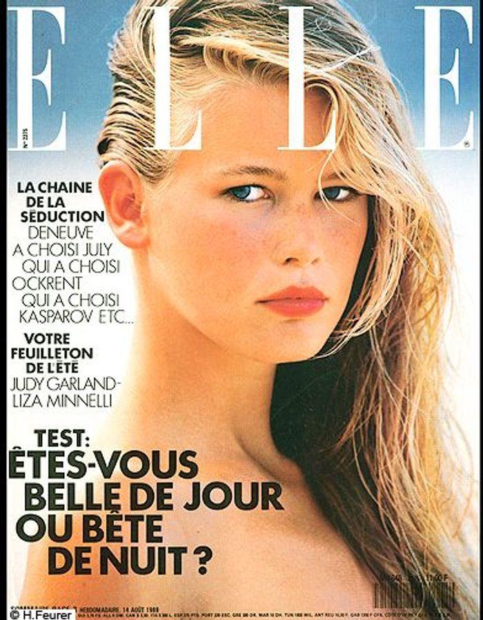 couverture elle magazine 1989 les plus belles couvertures de elle elle. Black Bedroom Furniture Sets. Home Design Ideas