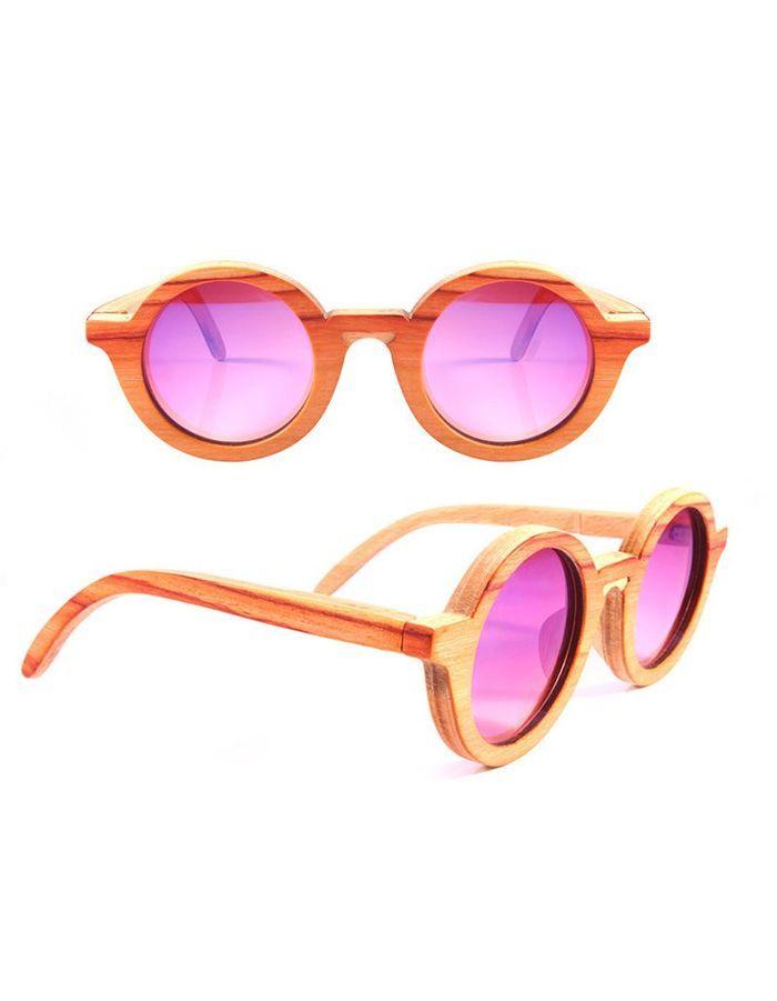 lunettes de soleil en bois strange froots mode notre s lection color e qui fait du bien elle. Black Bedroom Furniture Sets. Home Design Ideas