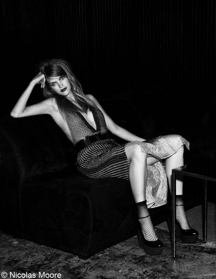 robe yves saint laurent sp cial mode wild classe elle. Black Bedroom Furniture Sets. Home Design Ideas
