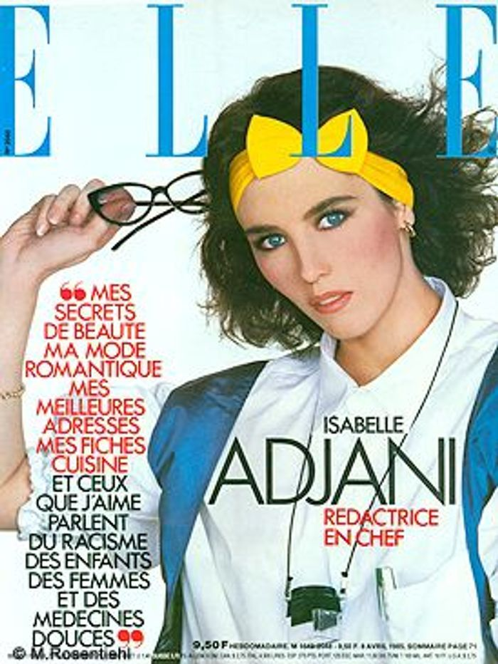 Mars 1985 on s 39 inspire de la mode des ann es 80 elle - Mode annees 80 photos ...