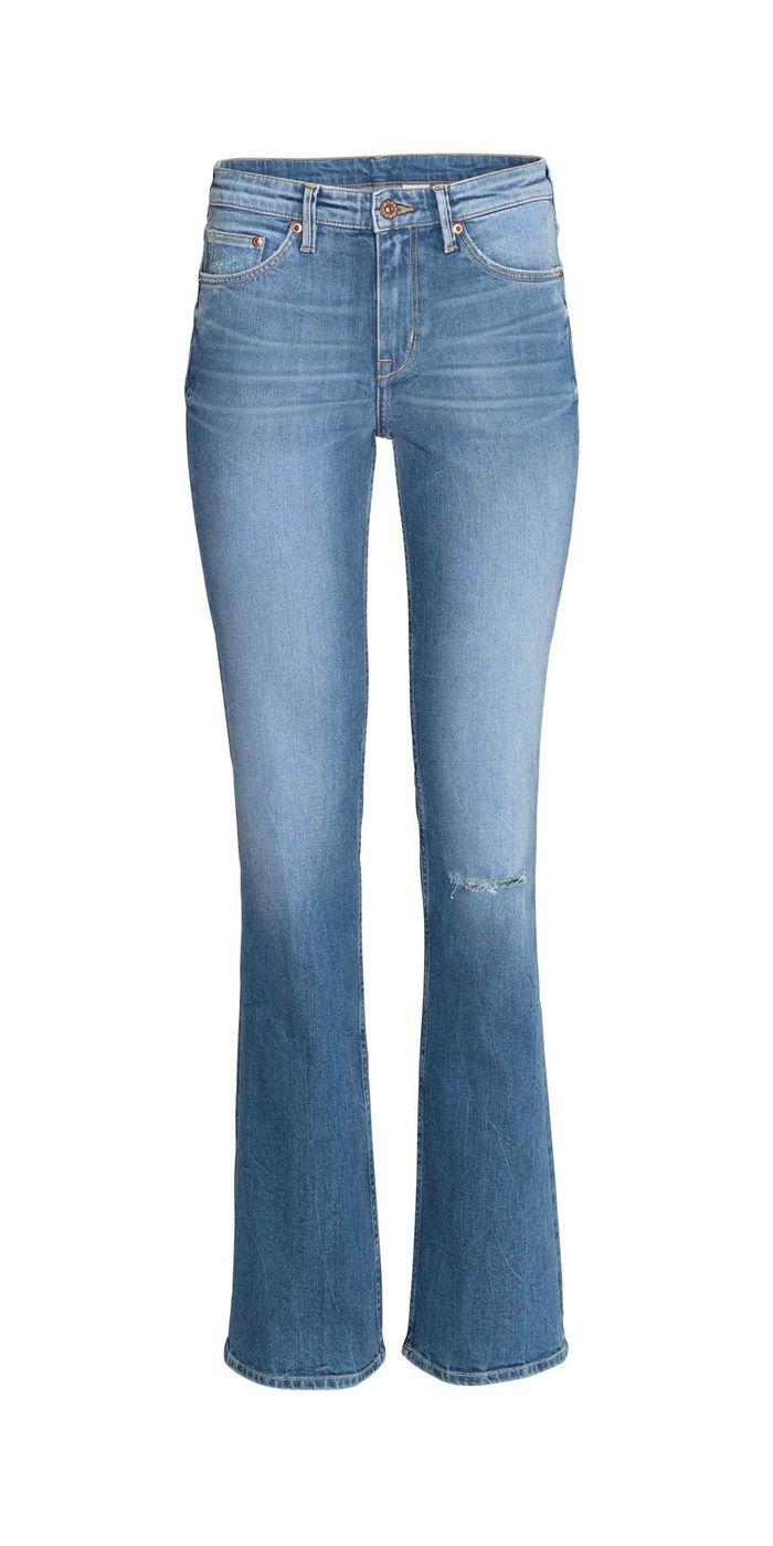jean bootcut h m 20 jeans bootcut pour allonger ses. Black Bedroom Furniture Sets. Home Design Ideas