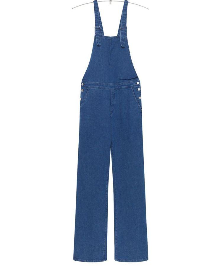 salopette en jean pattes d 39 eph american vintage la salopette en jean fait son come back elle. Black Bedroom Furniture Sets. Home Design Ideas