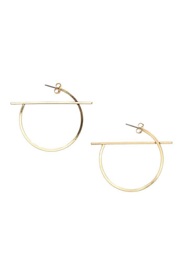 boucles d oreilles h m 20 bijoux pas chers qui donnent du cachet votre style elle. Black Bedroom Furniture Sets. Home Design Ideas