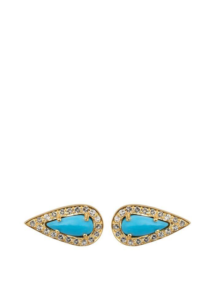 Petites boucles d'oreilles Theodora Warre