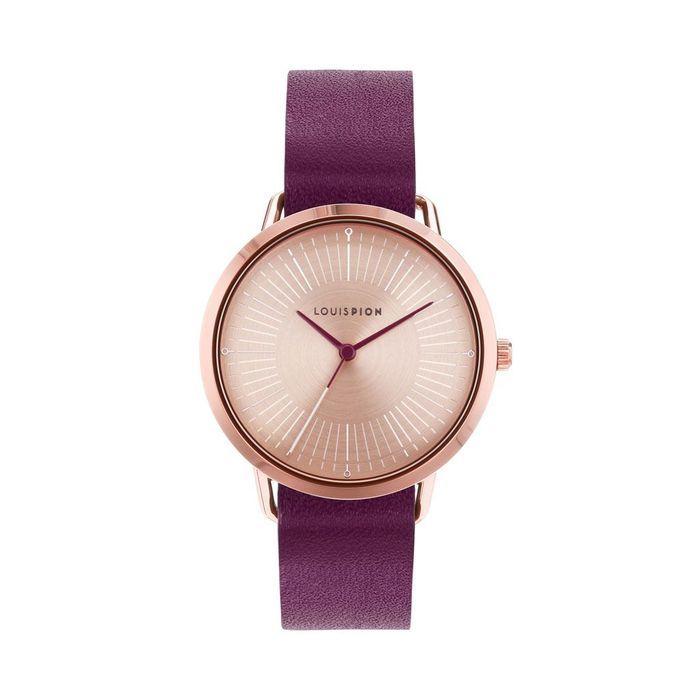 montre femme brune de louis pion tout nouveau tout beau les 10 montres de la rentr e elle. Black Bedroom Furniture Sets. Home Design Ideas