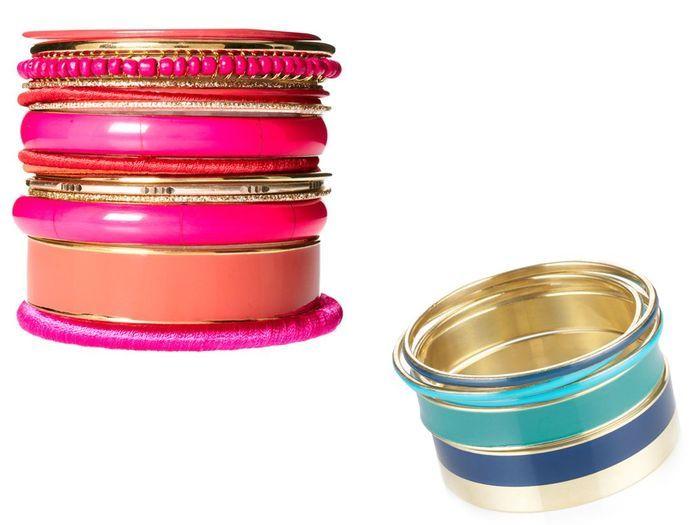 on multiplie les bracelets - 30 astuces mode pour mettre en valeur son bronzage