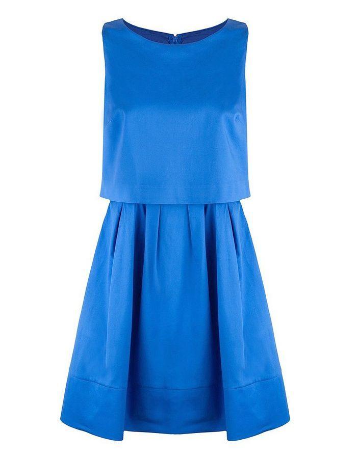 Robe bleue sinequanone
