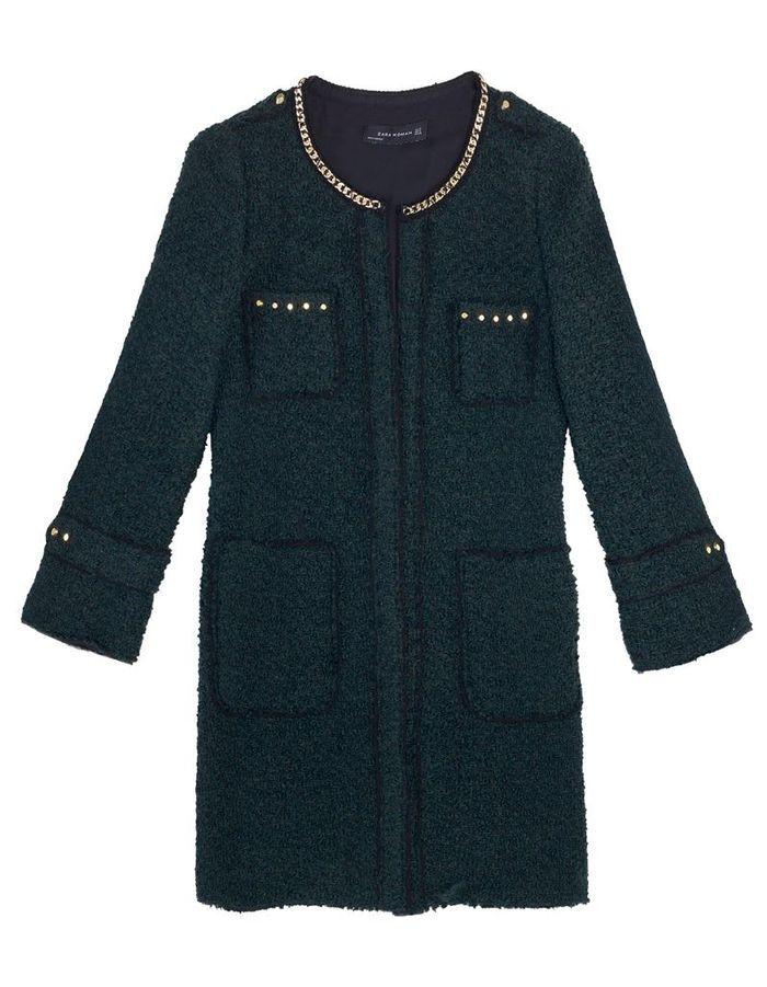 parka zara nouveaux manteaux on les a rep r s elle. Black Bedroom Furniture Sets. Home Design Ideas