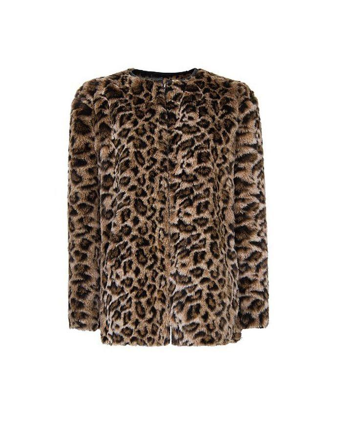 manteau fausse fourrure l opard mango quel manteau pour quelle tenue elle. Black Bedroom Furniture Sets. Home Design Ideas