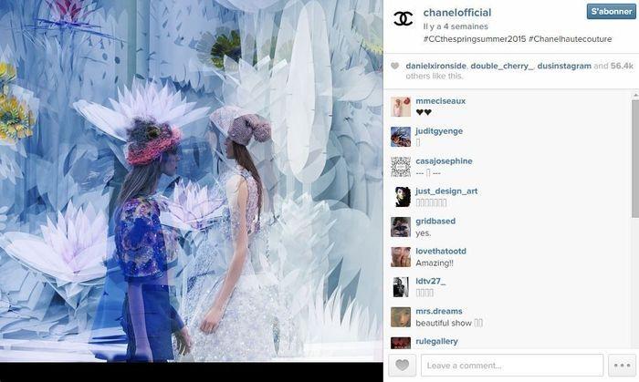 Chanel les 101 comptes instagram suivre pendant la fashion week elle - Qui suivre sur instagram ...