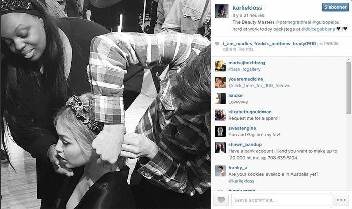 Karlie kloss les 101 comptes instagram suivre pendant la fashion week elle - Qui suivre sur instagram ...