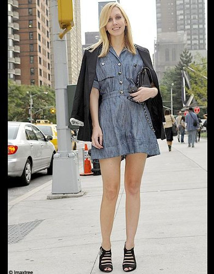 Mode Defiles New York Street Style 3 Fashion Week Les New Yorkaises Font Leur Show Elle