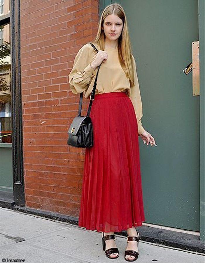 Mode Defiles New York Street Style 6 Fashion Week Les New Yorkaises Font Leur Show Elle