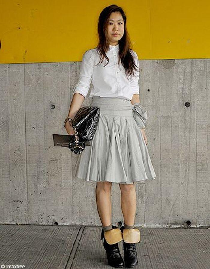Mode Defiles New York Street Style 9 Fashion Week Les New Yorkaises Font Leur Show Elle