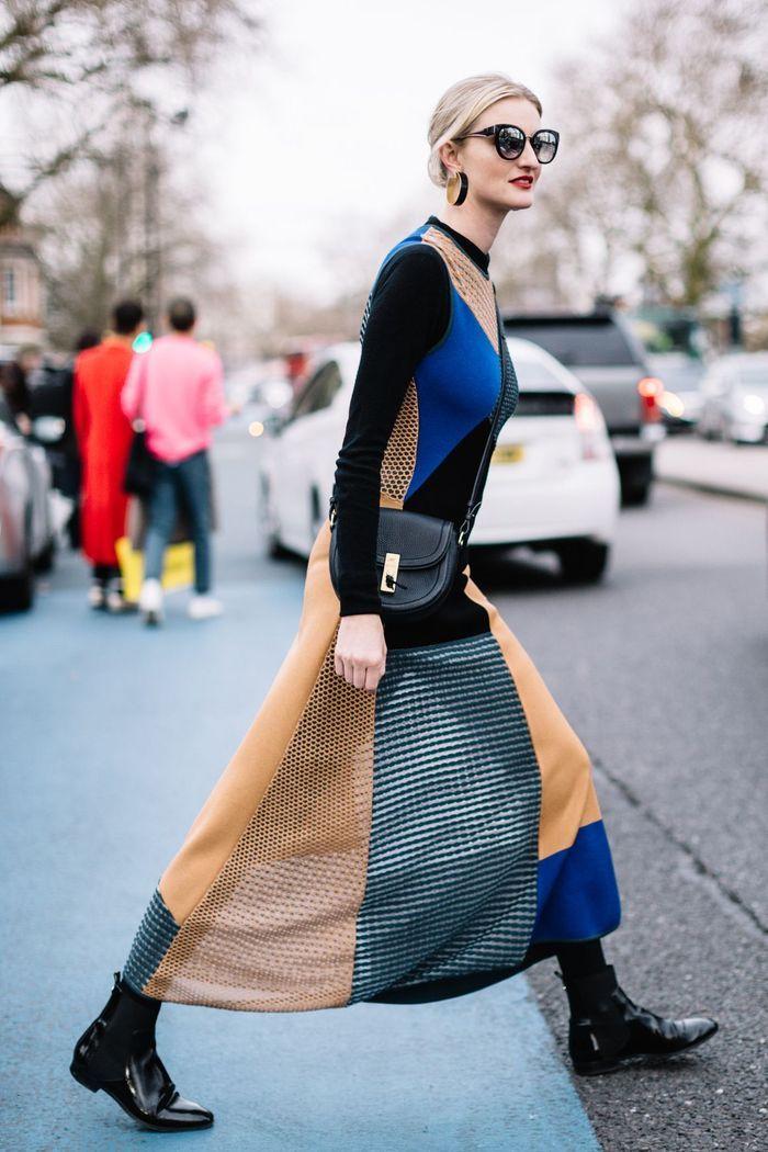 Une robe patchwork