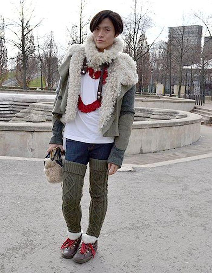 mode street style homme look tendances defiles haute couture paris 13 street style les mecs. Black Bedroom Furniture Sets. Home Design Ideas