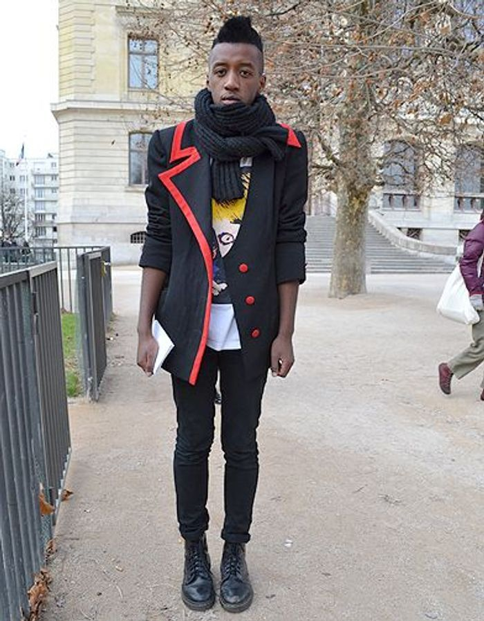 mode street style homme look tendances defiles haute couture paris 19 street style les mecs. Black Bedroom Furniture Sets. Home Design Ideas
