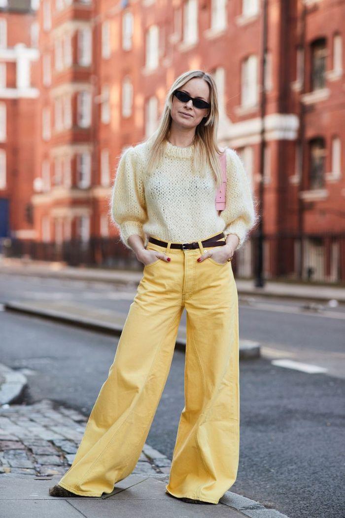 Comment porter un pantalon de couleur sans faire clown elle - Comment porter un pull oversize ...