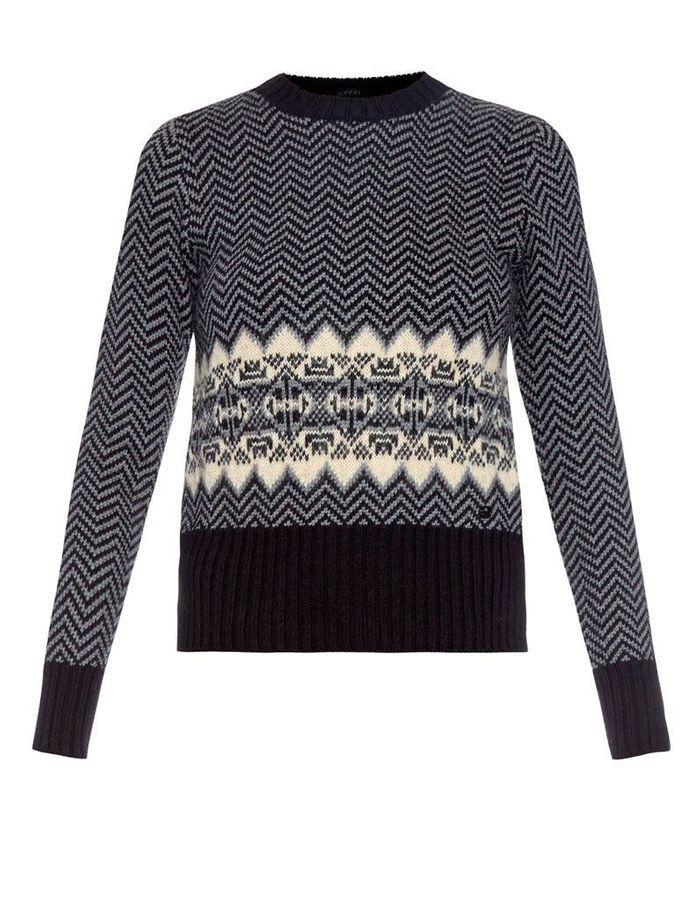 pull en laine m rinos gucci 30 pulls en laine pour tre au chaud tout l hiver elle. Black Bedroom Furniture Sets. Home Design Ideas