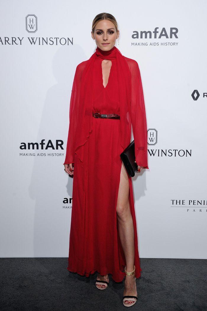 La robe fendue d'Olivia Palermo