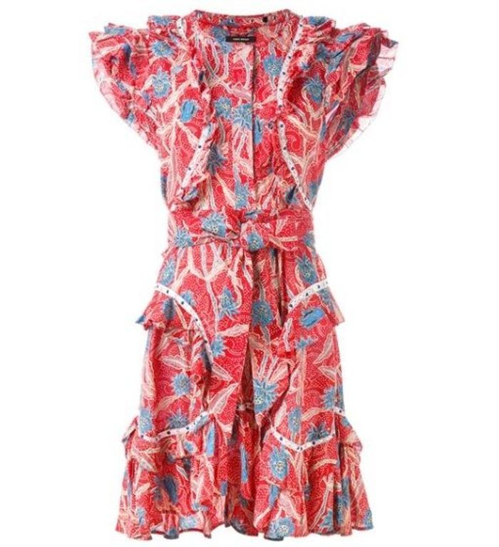 Robe fleurie Isabel Marant