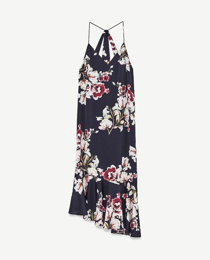 Robe mi-longue Zara