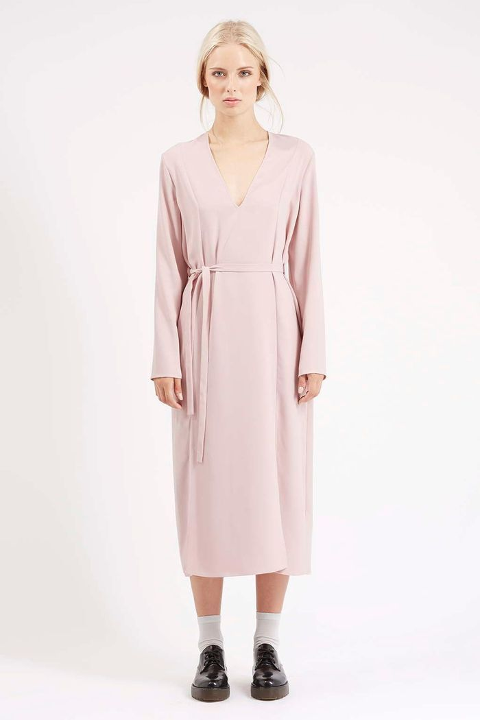 robe rose pale topshop 20 robes chics et sexy pour faire durer l t elle. Black Bedroom Furniture Sets. Home Design Ideas